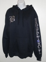 Basketball Sweatshirt (all crystal)