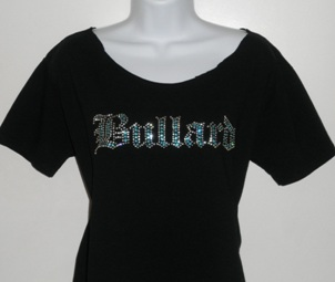 Bullard off-the-shoulder tee