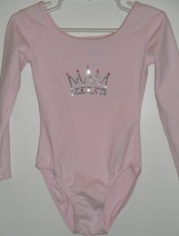 Crown Pink Leotard