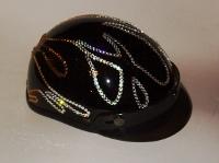 Flame Harley Helmet