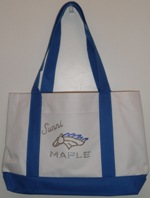 Maple Mustangs Personalized Tote