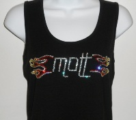 Mott with Flames-black