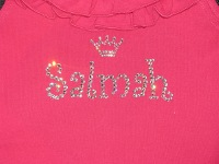 Salmah-little girl shirt