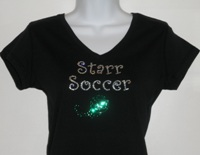 Starr Soccer with ball