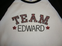 twilight shirt TEAM EDWARD